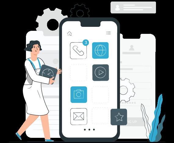 flutter app development model